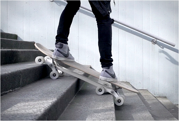 STAIR-ROVER LONGBOARD | Image