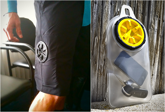 STASH WATERPROOF POCKET SHORTS | Image