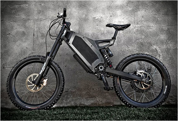 Electric Bikes STEALTH ELECTRIC BIKES