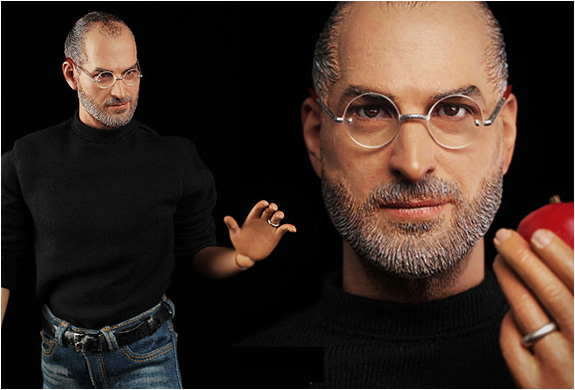 STEVE JOBS HYPER REALISTIC COLLECTIBLE FIGURE | Image