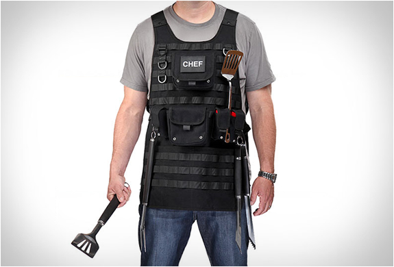 Tactical Bbq Apron | Image