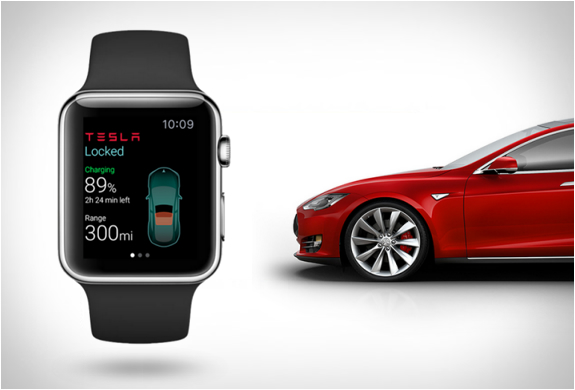 Tesla Apple Watch App | Image