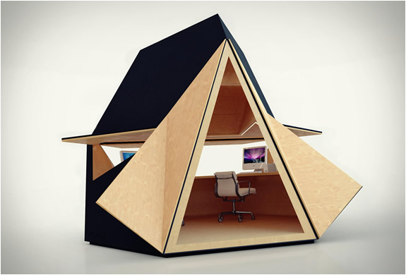 TETRA SHED | GARDEN OFFICE | Image
