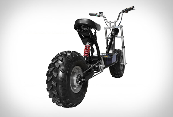 the beast electric off road scooter. Black Bedroom Furniture Sets. Home Design Ideas