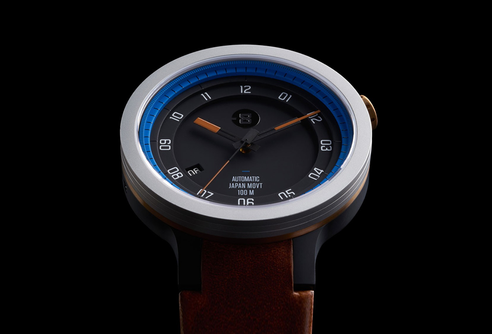 MINUS-8 LAYER LEATHER WATCH | Image