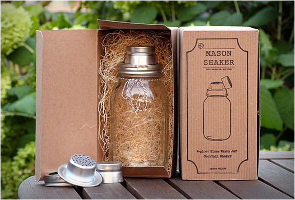 THE MASON JAR COCKTAIL SHAKER | Image