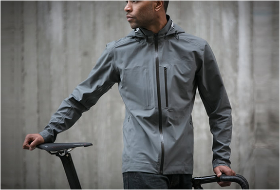 The Meridian | Waterproof Cycling Jacket | Image