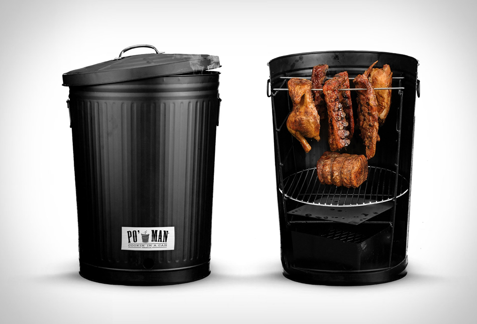 Po Man Charcoal BBQ Grill | Image