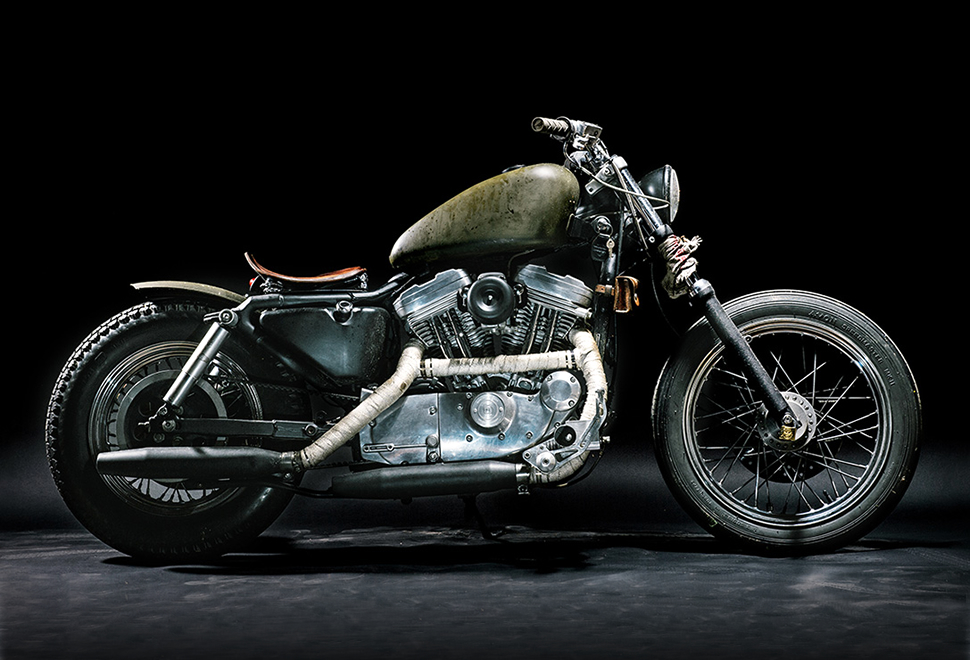 THE WITCH HARLEY DAVIDSON SPORTSTER | Image
