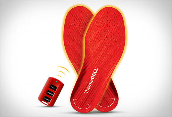 REMOTE CONTROLLED HEATED INSOLES | Image