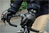 LEATHER BIKE GLOVES | BY NARIFARI