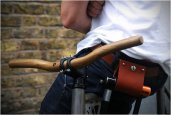 WOOD HANDLEBARS | BY DEER RUNNER