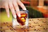 DOOMED | CRYSTAL SKULL SHOT GLASS