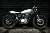 YAMAHA SR400 | BY GASOLINE CUSTOM MOTORCYCLES