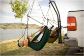 TRAILER HITCH STAND & HAMMOCK CHAIR COMBO