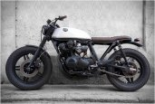 HONDA BLACK CREAM | BY CRD MOTORCYCLES