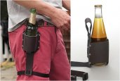 BEER LEATHER HOLSTER