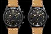 BELL & ROSS VINTAGE BR CARBON SERIES