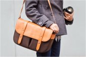 CLASSIC LEATHER CAMERA BAG