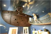 PIRATE SHIP BEDROOM | BY KUHL DESIGN BUILD