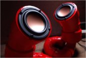 RED LOBSTER AUDIO SPEAKERS | BY IKYAUDIO