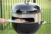 KETTLE PIZZA | TURN YOUR KETTLE GRILL INTO AN OUTDOOR PIZZA OVEN