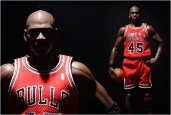 MICHAEL JORDAN HYPER REALISTIC COLLECTIBLE FIGURE