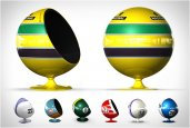 MOTORSPORT TRIBUTE EGG CHAIRS