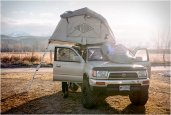 LETENT ROOFTOP TENT | BY POLER