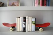 TAIL AND NOSE BOOKENDS | BY SKATE-HOME