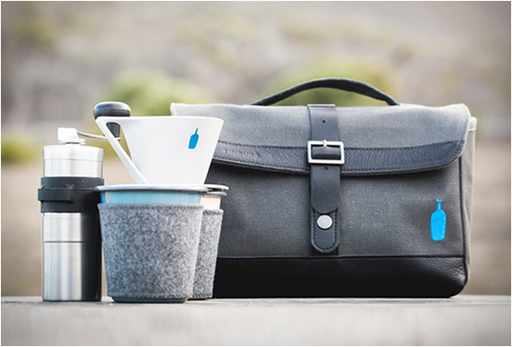 Timbuk2 X Blue Bottle Travel Coffee Kit | Image
