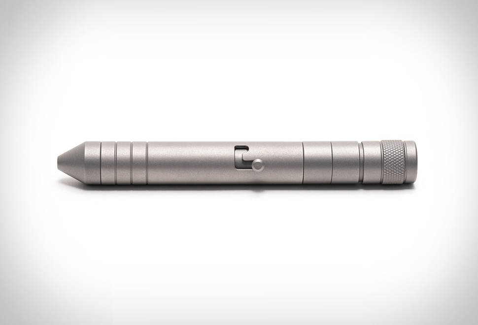 Titanium EDC Pen & Flashlight | Image