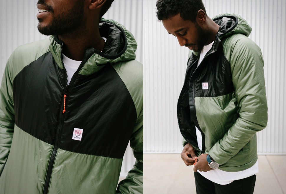 TOPO DESIGNS PUFFER HOODIE | Image