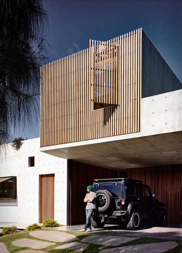 Torquay concrete house for Minimalist house grand designs