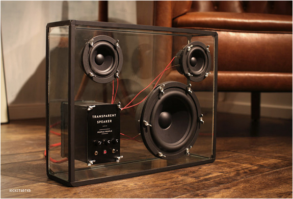 TRANSPARENT SPEAKER | BY PEOPLE PEOPLE | Image