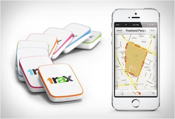 TRAX | REAL-TIME GPS TRACKER | Image