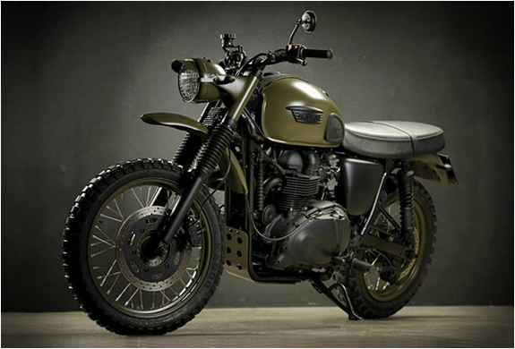 TRIUMPH DESERT | BY DRAGS & RACING | Image