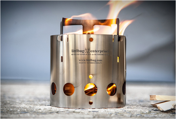 Ultralight Collapsible Backpacking Stove | Image