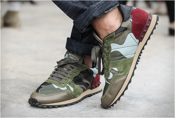 Valentino Camouflage Sneakers | Image