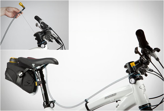 Veleau 42 | Bicycle Mounted Hydration System | Image