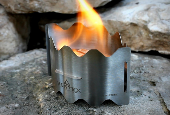 VERTEX ULTRALIGHT BACKPACKING STOVE | Image