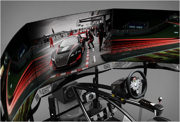 vesaro motion racing simulator