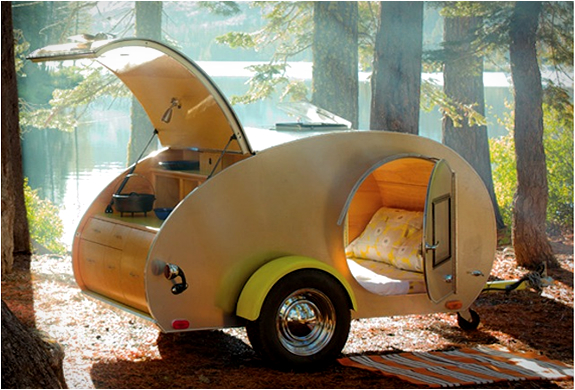 Image result for vintage teardrop camper