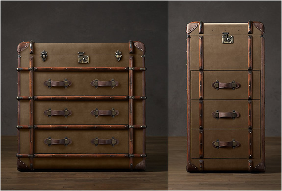 VINTAGE TRUNKS | BY RESTORATION HARDWARE | Image