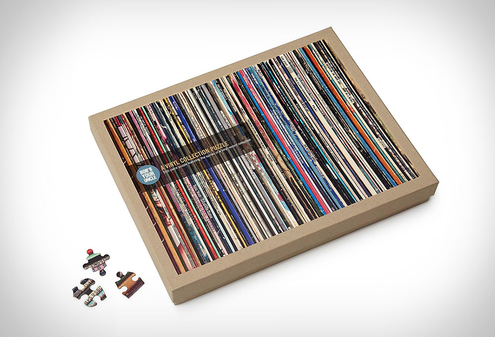 Vinyl Collection Puzzle | Image