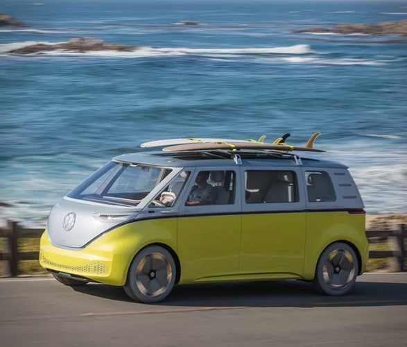 Where Can I Buy A Volkswagen Bus: Volkswagen Electric Microbus
