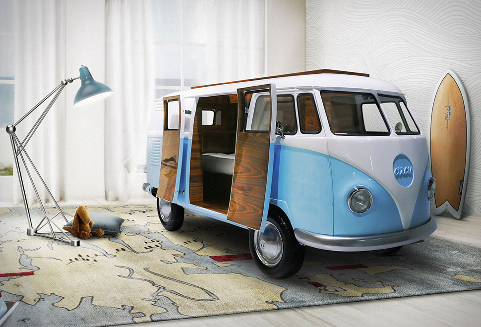 VW Camper Van Bed | Image