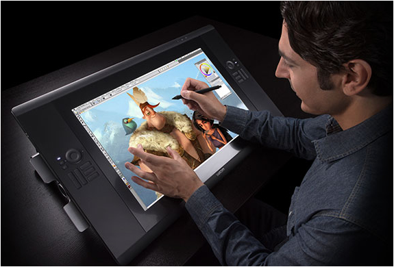 CINTIQ 24HD TOUCH TABLET | BY WACOM | Image