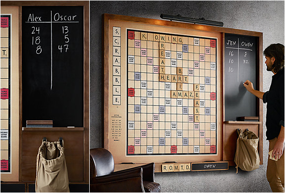 Wall Scrabble | By Restoration Hardware | Image