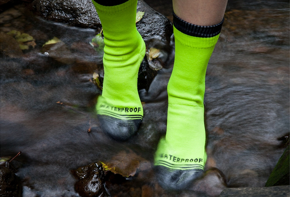 Waterproof Crew Socks | Image